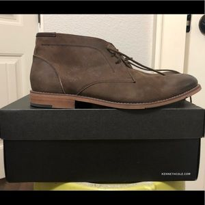 Men's Kenneth Cole Brown Suede shoes